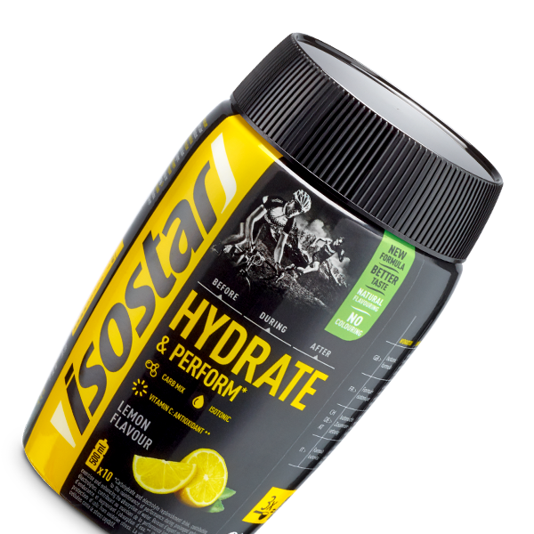 Isostar Hydrate & Perform Lemon 400g