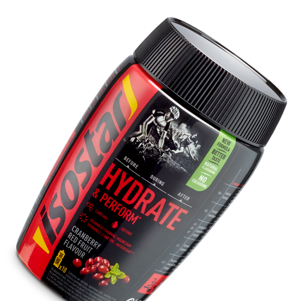 Isostar Hydrate & Perform Red Fruits 400g