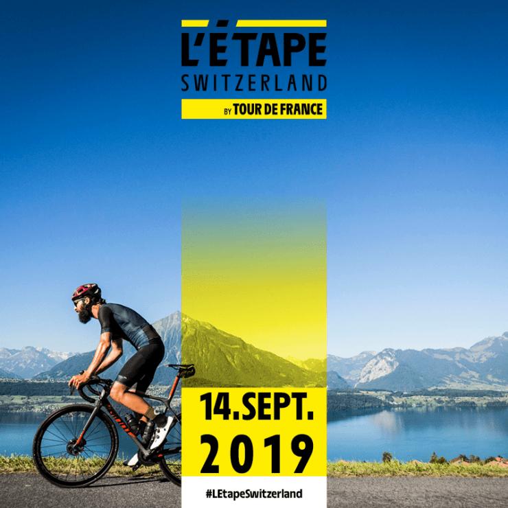 Logo L'Étape Switzerland by Tour de France