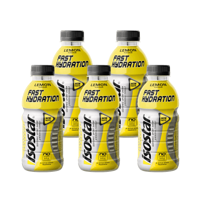 Packshot_Isostar PET Lemon_boisson-sportive
