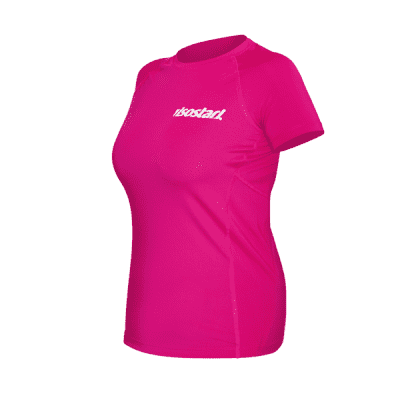 Isostar T-shirt fonctionnel femme rose