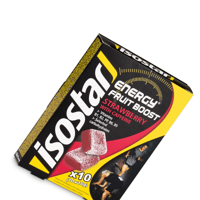 Isostar Energy Fruit Boost_Erdbeere_Energy Snack