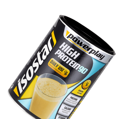 Packshot_Isostar_High Protein Banane_poudre_proteinée