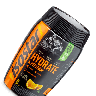 Isostar Hydrate & Perform Orange 400g